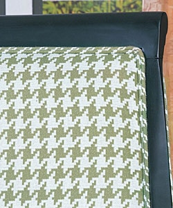 Thumbnail 3, Medford Houndstooth Olive Chair. Changes active main hero.
