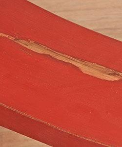 Handmade Wooden Double Horse Bench (China) - Thumbnail 2