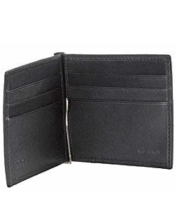 designer money clip card holder