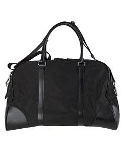 f996fc4b574034 Shop Prada Black Large Nylon Duffel Bag - Free Shipping Today ...