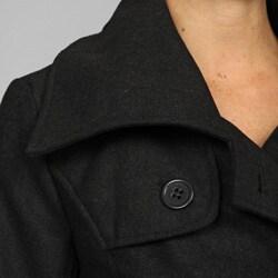 CoffeeShop Belted Wool Jacket