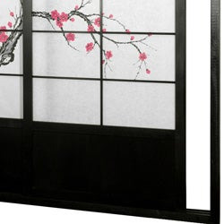 Cherry Blossom Shoji Sliding Door Kit (China) - Thumbnail 2
