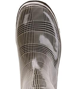 On Your Feet Satra Women's Plaid Print Rain Boots