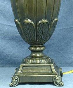 Shop Stiffel Antique Brass Finish Urn Table Lamp Free