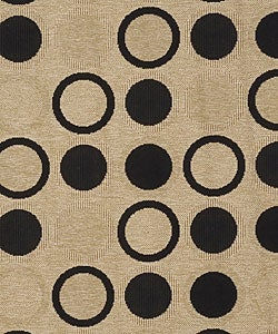 Cafe Series Indoor/ Outdoor Rug (8'9 Round) - Thumbnail 2