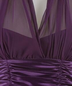 Connected Apparel Illusion Halter Dress - Thumbnail 2