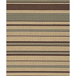 Cafe Series Stripe Indoor/Outdoor Rug (8'9 x 12'9) - Thumbnail 2
