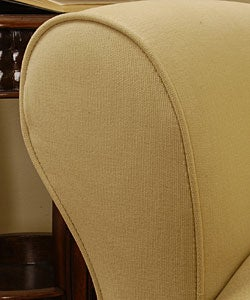 Shop Contemporary Chamois Chair Pebble Free Shipping