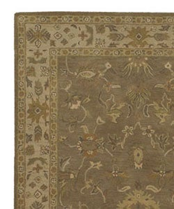 Hand-tufted Camelot Collection Wool Rug (4' x 6') - Thumbnail 2