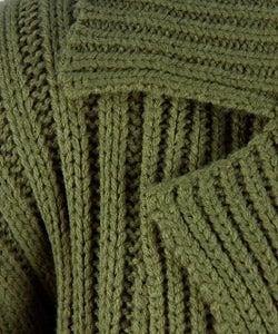 Stephanie Rogers Plus Size Chunky Knit Cardigan Sweater