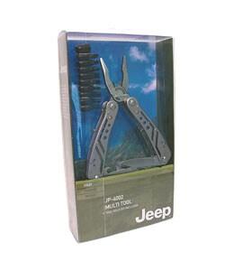 Jeep Stainless Steel Multi-tool Pocket Knife - Thumbnail 2