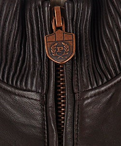 Phat Farm Men's Lamb Leather Jacket