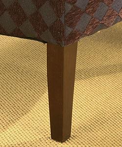 Accent Chair Plum Argyle - Thumbnail 2