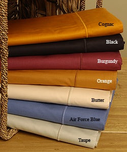 Amalfi 210 Thread Count Egyptian Cotton Luxury Sheet Set made in Italy - Thumbnail 2