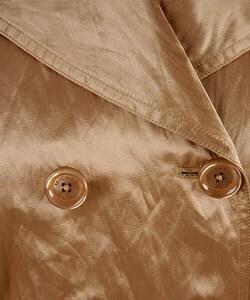 MICHAEL Michael Kors Metallic Gold Trench Coat - Thumbnail 2