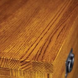 Mission Solid Oak Small Sideboard Buffet