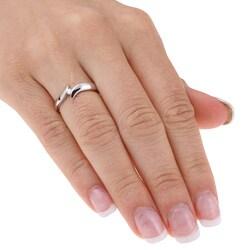 14k White Gold Diamond Ring - Thumbnail 2