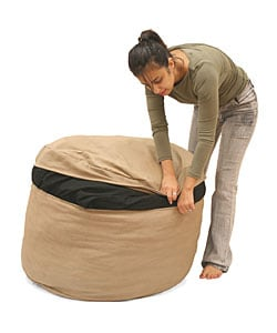 Beige Bean Bag Sleeper - Thumbnail 2