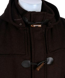 Claiborne Men's 3/4-length Toggle Coat - Thumbnail 2