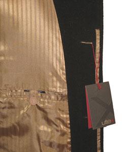 Utex Men's Full-length Dress Overcoat