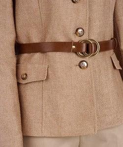 Tahari Women's Textured Spring Tweed Pant Suit - Thumbnail 2