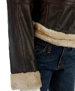 Hot Kiss Junior's Faux Shearling Jacket