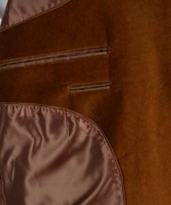 Adolfo Men's Cognac Velvet Sportcoat