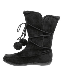 Next by Adi Children's Faux Suede Mukluk Boots - Thumbnail 2