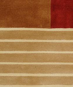 Safavieh Handmade Rodeo Drive Modern Abstract Multicolored Wool Rug (6' x 9') - Thumbnail 2