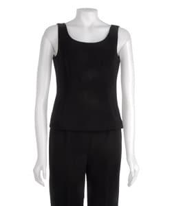 Kasper Women's 3-piece Cream/ Black Pant Suit