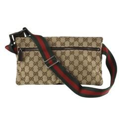 Gucci Jacquard Guccissima Logo Waist Bag Belt - Thumbnail 2
