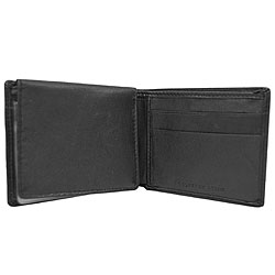 Geoffrey Beene Men's Leather Bi-fold Wallet