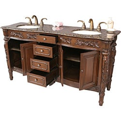 othella 67 inch double sink bathroom vanity free