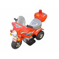 Electric Kids Police Motorcycle - Free Shipping Today ...