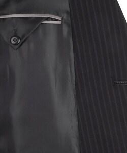 Thumbnail 3, Kenneth Cole Reaction Men's Navy Stripe Wool Suit. Changes active main hero.