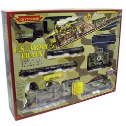 Limited Edition Military Army Electric Train Set - Thumbnail 2