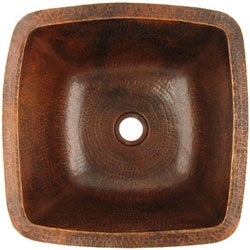 Fontaine Square Copper Bar Sink