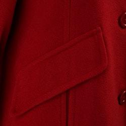 London Fog Women's Wool Coat with Scarf - Thumbnail 2