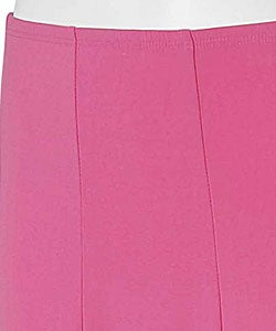 Adi Designs S. Max Women's Solid Mid-length Skirt - Thumbnail 2