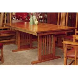 Mission Solid Oak 7-piece Grand Dining Set