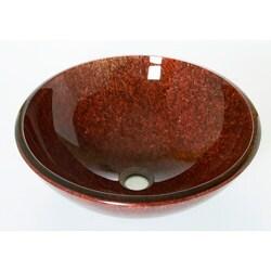 DeNovo Specktacular Flecked Browns Vessel Sink