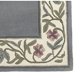 Hand-tufted Regal Collection Wool Rug (9' x 13') - Thumbnail 2