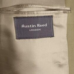 Thumbnail 3, Austin Reed London Men's British Khaki Solid Suit. Changes active main hero.