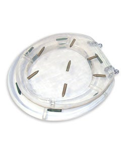 Clear Acrylic Toilet Seat with Bullets - Thumbnail 2