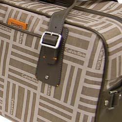 Calvin Klein Mercer 18-inch Leather Trim Duffel - Thumbnail 2