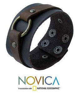 Genuine Leather 'Power' Bracelet (Thailand)