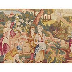 Chinese French-style Rug (4'4 x 7') - Thumbnail 2