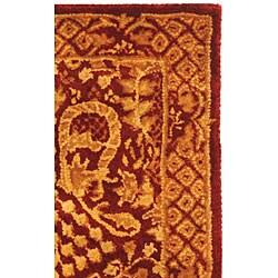Safavieh Handmade Majestic Rust New Zealand Wool Runner (2'3 x 4') - Thumbnail 2