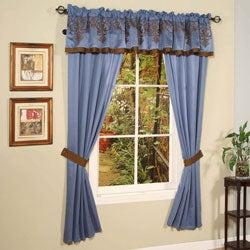 Blue Jacquard 22-piece Queen Comforter Set - Thumbnail 2