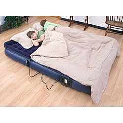 Air Cloud Pillowtop Full-size Air Bed with Remote